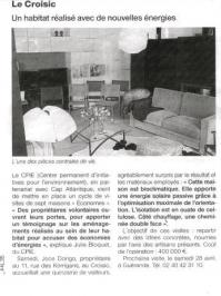 article de Ouest France 1er avril 2012